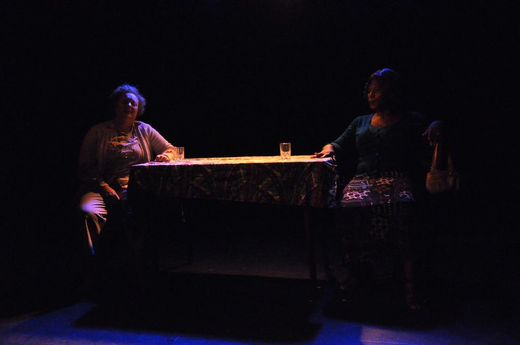 Robyn Scott as Rosa and Ntombi Makhutshi as Stella